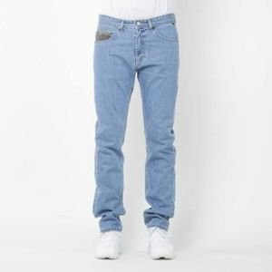 Mass Denim spodnie jeans Patrol tapered fit light blue SS2017