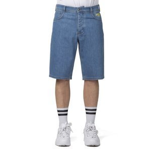 Mass Denim szorty Protect Shorts Jeans trap fit - dark blue