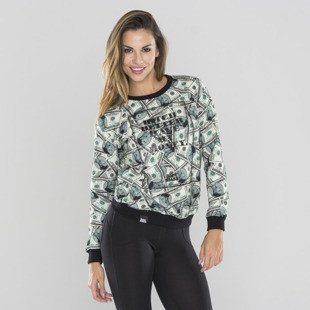 Saint Mass bluza crewneck My Money multicolor