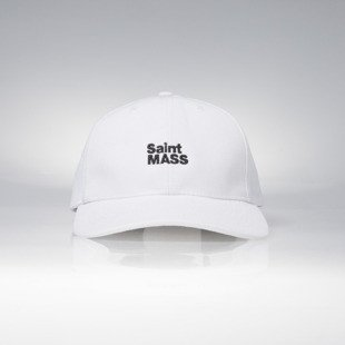Saint Mass czapka strapback Logo SM Cap white LIMITED EDITION