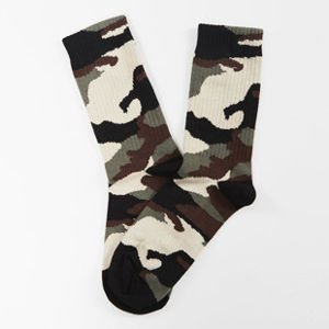 Skarpety Mass Denim socks Woodland Quarter khaki SS 2017