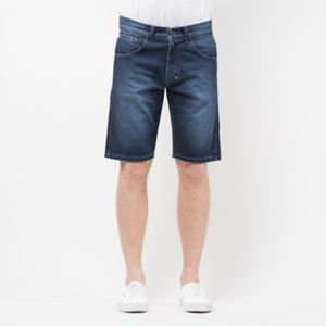 Szorty Mass Denim Shorts Jeans Dripline straight fit dark blue SS 2017