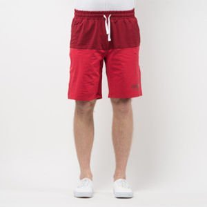 Szorty Mass Denim Sweatshorts Classics Cut claret / red SS 2017