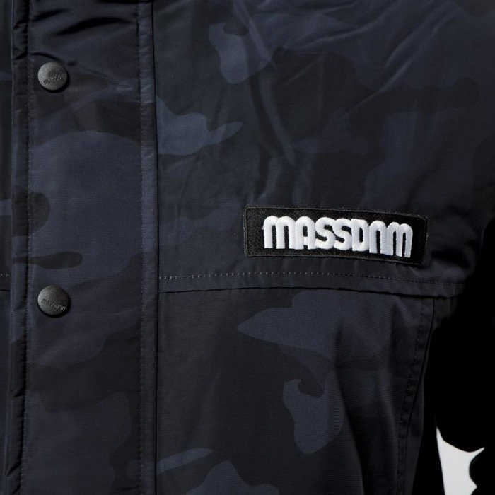 74bf456f90194 Mass DNM kurtka zimowa District Jacket - black camo | shop.massdnm.com