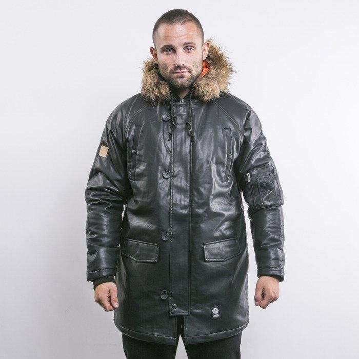 4f14cef9f8f9e Mass Denim kurtka zimowa Combat Leather black | shop.massdnm.com