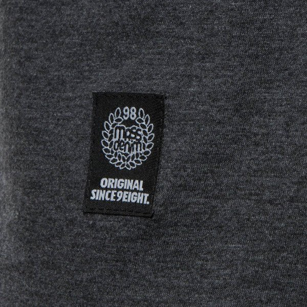 Koszulka Mass Denim T-shirt Fang - heather grey
