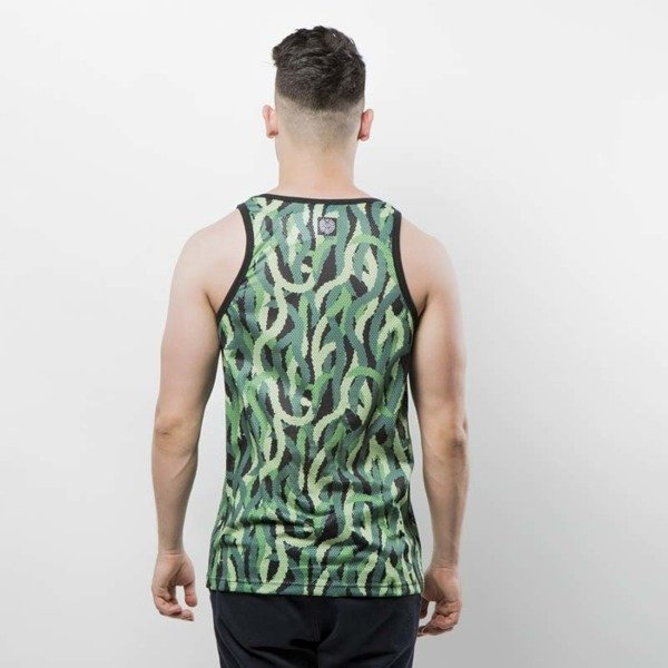 Koszulka Mass Denim Tank Top Creep green SS 2017