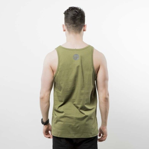 Koszulka Mass Denim tank top Signature Handmade khaki SS 2017