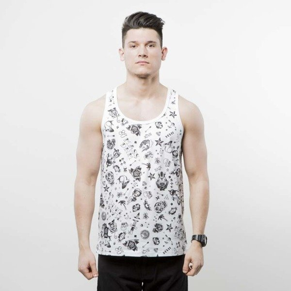 Koszulka Mass Denim tank top Tattoo white SS 2017