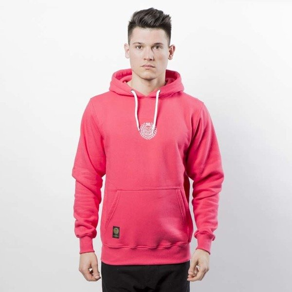 Mass DNM bluza Base SL Embroidered Sweatshirt Hoody pink LIMITED EDITION