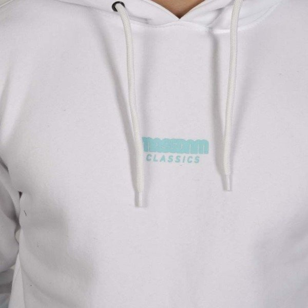 Mass DNM bluza Sweatshirt Blockbuster Hoody - white