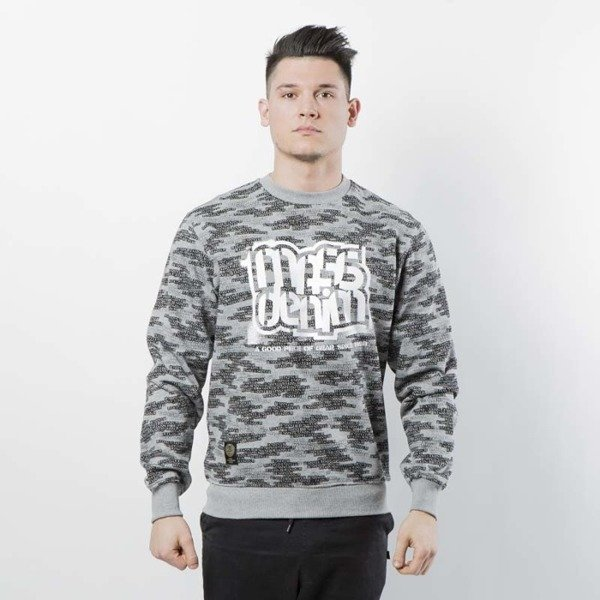 Mass DNM bluza Sweatshirt Crewneck Assassin - light heather grey