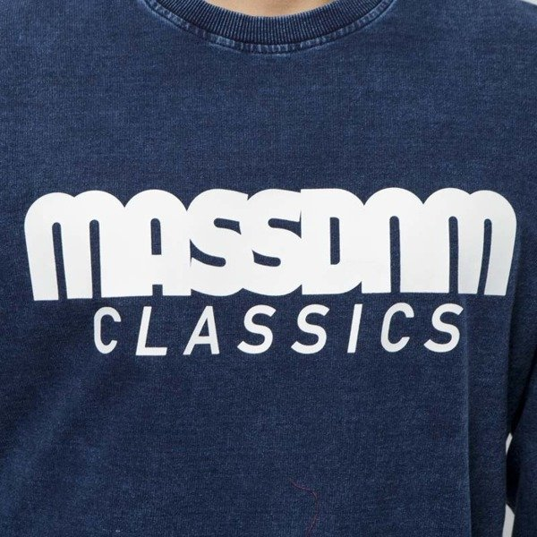Mass DNM bluza Sweatshirt Crewneck Classics - dark blue LIMITED EDITION