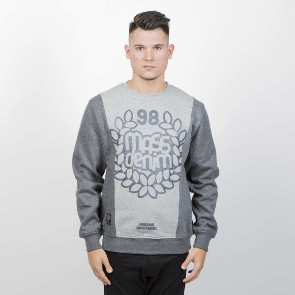 Mass DNM bluza Sweatshirt Crewneck False Start - heather grey