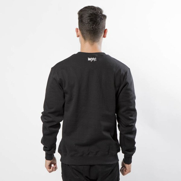 Mass DNM bluza Sweatshirt Crewneck Signature - black