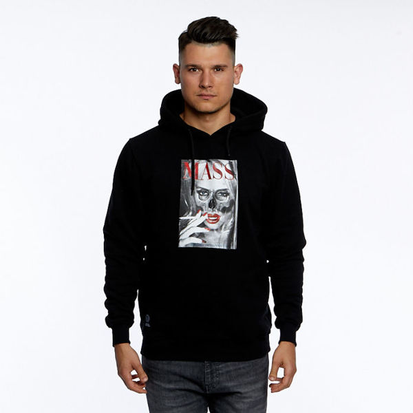 Mass DNM bluza Sweatshirt Deadly Look Hoody - black