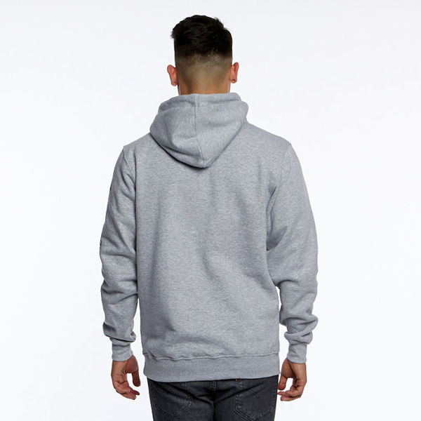 Mass DNM bluza Sweatshirt Hassle Hoody - light heather grey