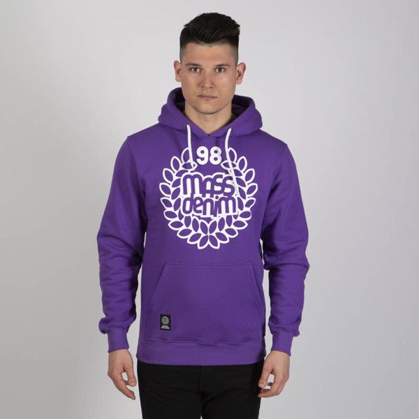 Mass DNM bluza Sweatshirt Hoody Base - purple
