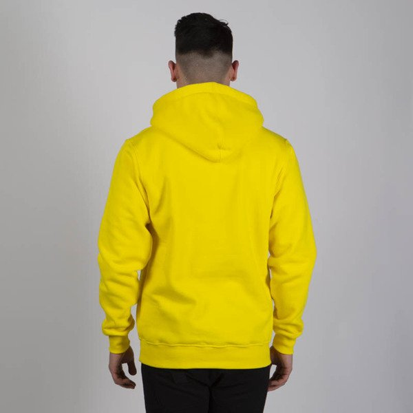 Mass DNM bluza Sweatshirt Hoody Base - yellow