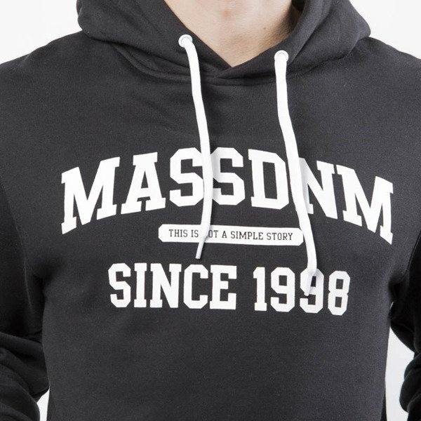 Mass DNM bluza Sweatshirt Hoody Campus - black