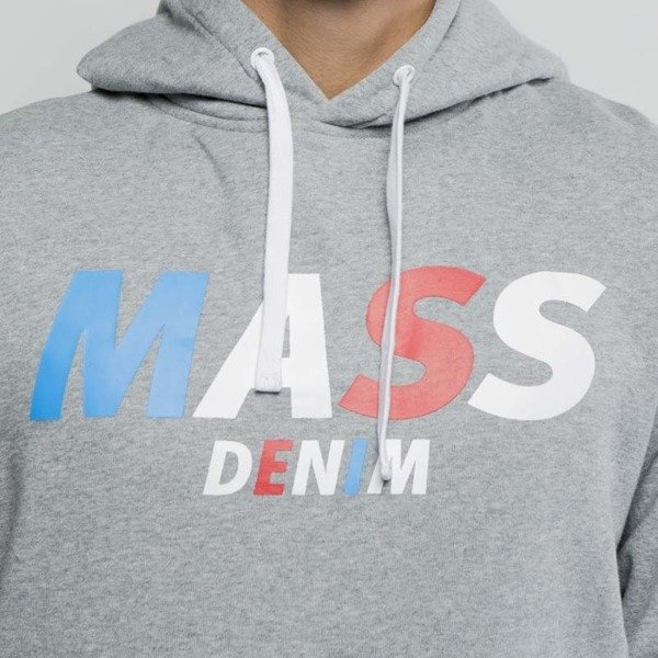 Mass DNM bluza Sweatshirt Hoody Grand - medium heather grey
