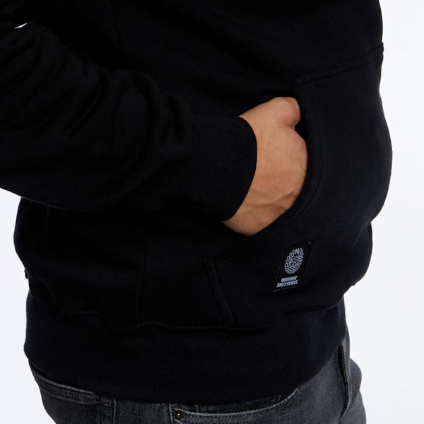 Mass DNM bluza Sweatshirt Replay Hoody - black