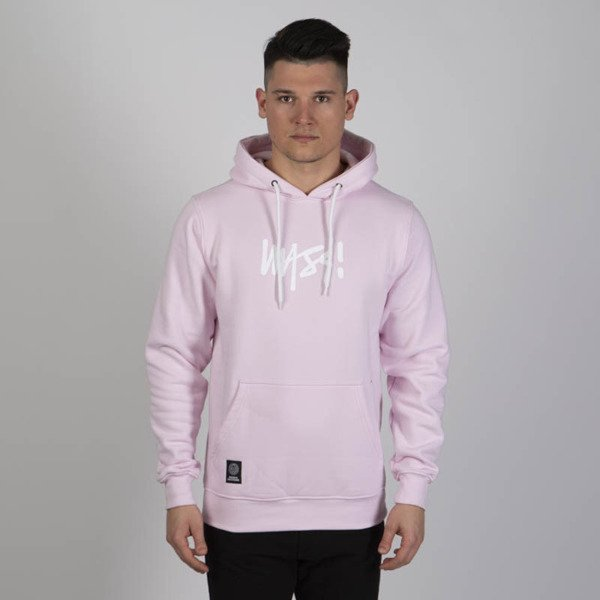 Mass DNM bluza Sweatshirt Signature Medium Logo Hoody - light pink