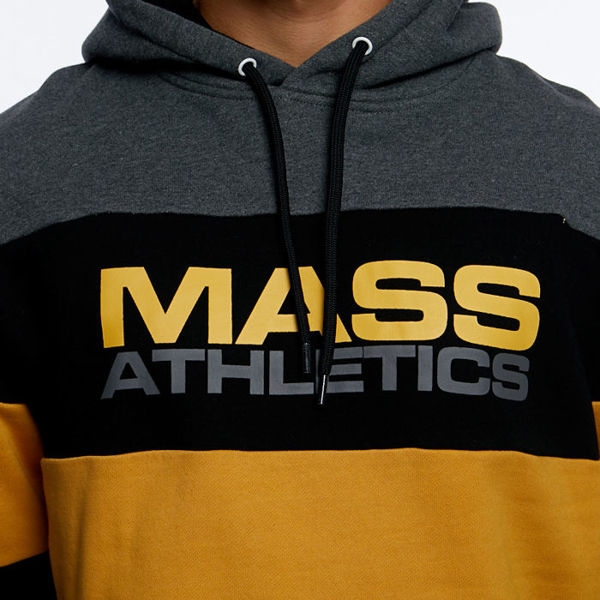 Mass DNM bluza Sweatshirt Slapshot Hoody - dark heather grey