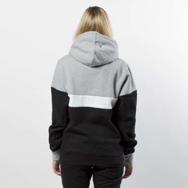 Mass DNM bluza damska Sweatshirt Hoody Respect WMNS - light heather grey / black