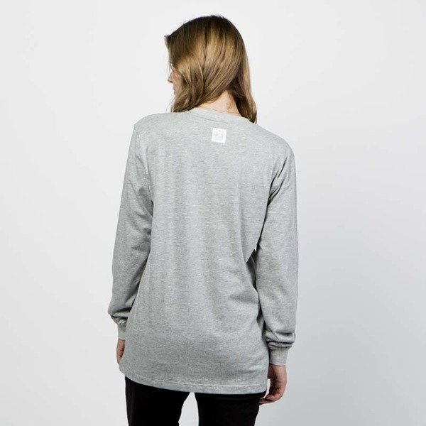 Mass DNM damska koszulka Base Longsleeve - light heather grey WMNS