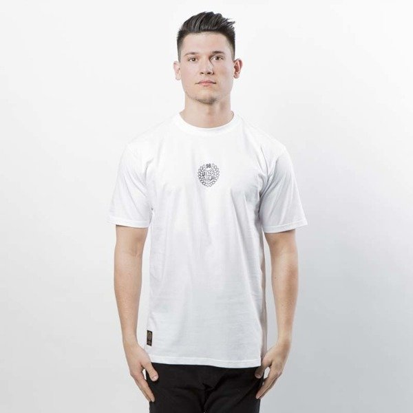 Mass DNM koszulka Base SL Print T-shirt white LIMITED EDITION