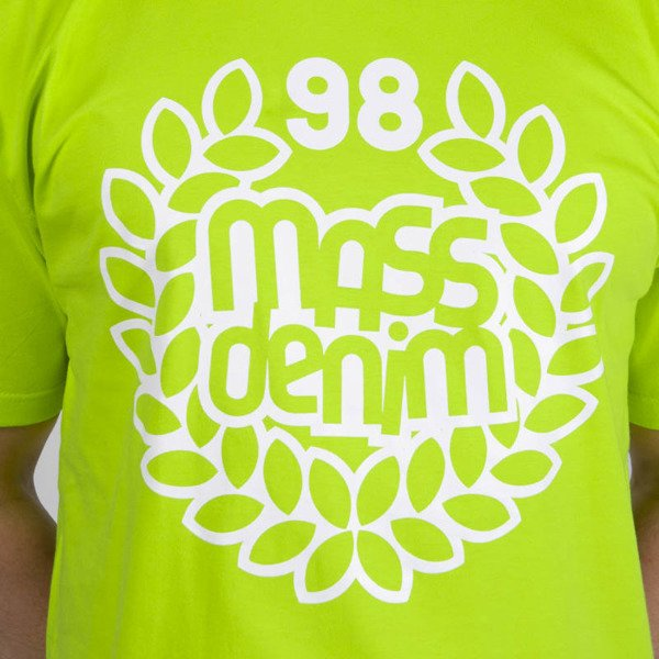 Mass DNM koszulka Base T-shirt - toxic green