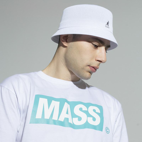Mass DNM koszulka Big Box T-shirt - white