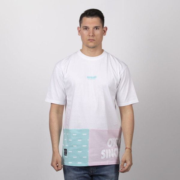 Mass DNM koszulka Blockbuster T-shirt - white