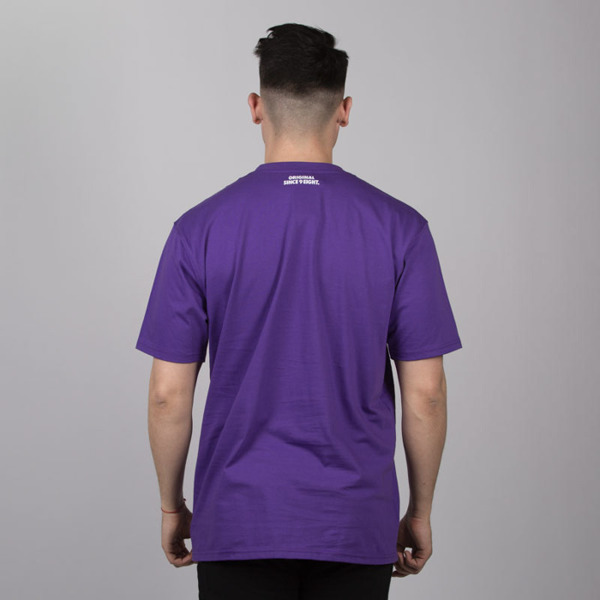 Mass DNM koszulka Camo Stripe - purple