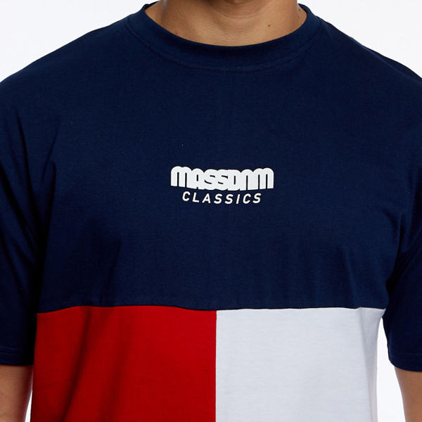 Mass DNM koszulka Capital T-shirt navy
