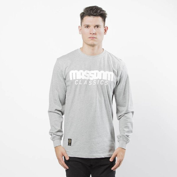 Mass DNM koszulka Classics Longsleeve - light heather grey