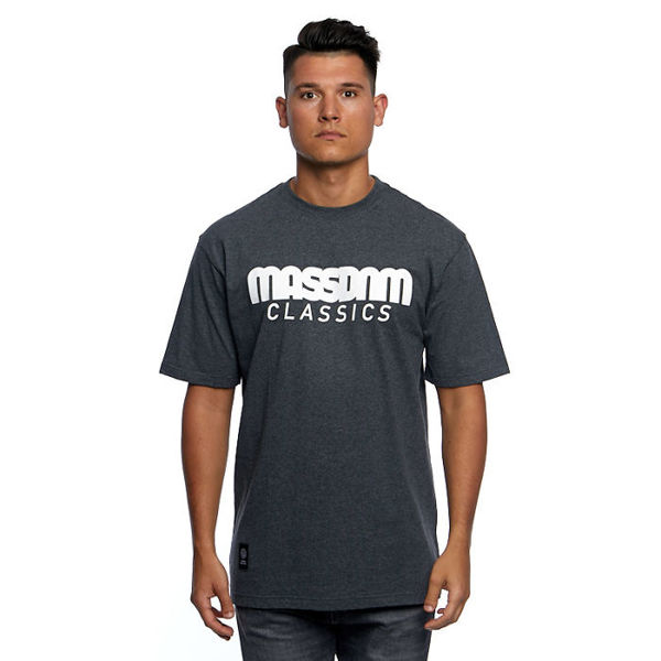 Mass DNM koszulka Classics T-shirt - dark heather grey