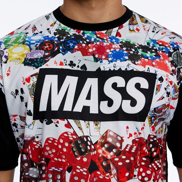 Mass DNM koszulka Gamble T-shirt multicolor