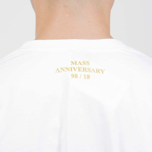 Mass DNM koszulka Golden Mic T-shirt white - 20TH ANNIVERSARY
