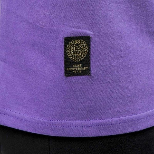 Mass DNM koszulka Signature SL Print T-shirt purple LIMITED EDITION
