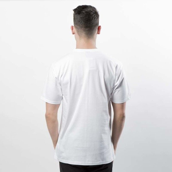 Mass DNM koszulka Signature SL Print T-shirt white LIMITED EDITION