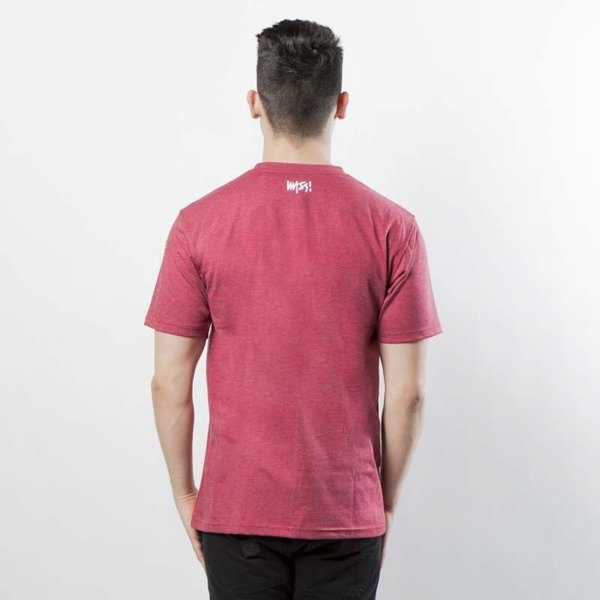 Mass DNM koszulka Signature T-shirt - heather claret
