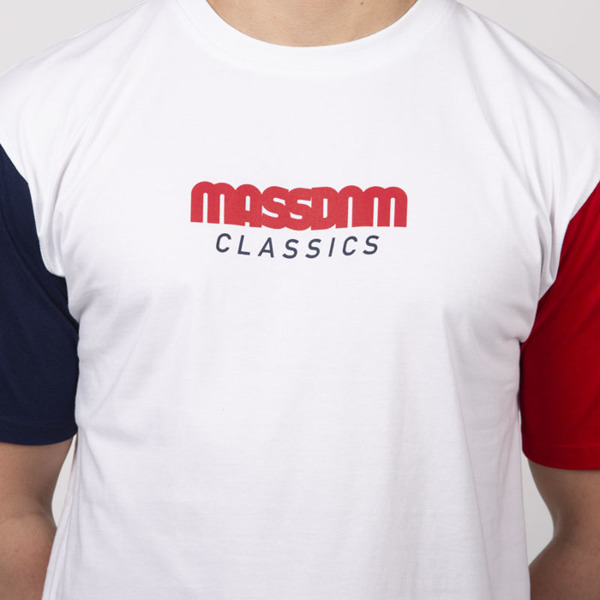 Mass DNM koszulka Triple T-shirt - white