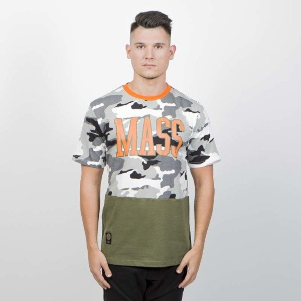 Mass DNM koszulka Truman T-shirt - winter camo