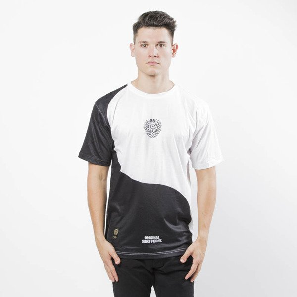Mass DNM koszulka Ying T-shirt -  black/white