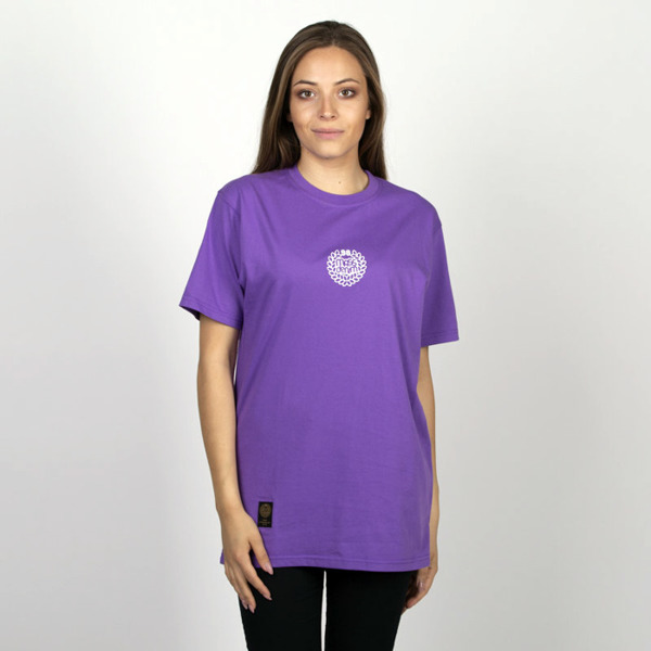Mass DNM koszulka damska Base SL Print T-shirt WMNS - purple LIMITED EDITION