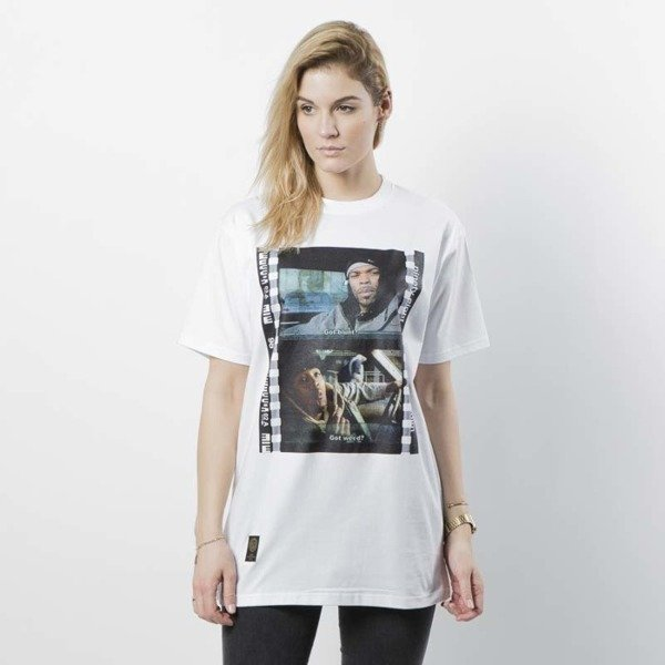 Mass DNM koszulka damska How High T-shirt WMNS - white