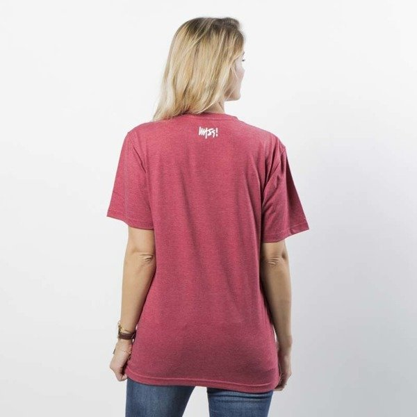 Mass DNM koszulka damska Signature T-shirt WMNS - heather claret