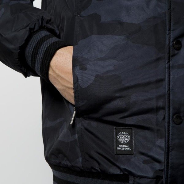 Mass DNM kurtka zimowa District Jacket - black camo